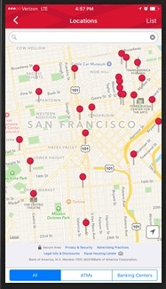 Bank Of America - Find the Nearest ATMs